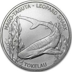 Tokelau - Leopard Shark 2018-1 OZ Silver Coin - gloednieuwe!  Met deze veiling bieden we u de mogelijkheid om te kopen van de verbazingwekkende Tokelau Leopard Shark 2018 1 OZ zilveren munt. Deze munt de munt gloednieuwe vandaan komt en voor het jaar 2018 is afgegeven. Deze fantastisch uitziende munt heeft een beperkte oplage van slechts 250.000 stukken.Details:-1 OZ zilveren munt-Geslagen voor het jaar 2018-Geslagen door de Highland munt-Strictly Limited Edition van slechts 250.000…