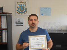 J'ai obtenu mon Diplôme d'agent de Gardiennage suite à ma Formation d'agent de sécurité à L'Académie de sécurité I.G.S