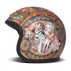 DMD Vintage Helmet - Woodstock