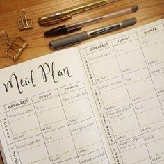 """17 Likes, 1 Comments - Suziebelle Bujo (@suziebellebujo) on Instagram: """"I'm going to try monitoring what I eat a bit more closely this week. I've recorded what I plan to…"""""""