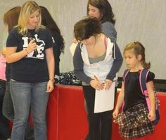 OT students bring backpack safety to elementary school (Gant Daily)