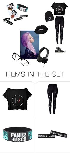 """""""One style of love to wear ^-^"""" by alliance-with-black ❤ liked on Polyvore featuring art, emo, alternative and phan"""