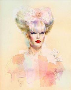 #fashion drawing illustration by Natalia sanabria  #fashiondrawing #sketches #illustration #artwork #iluustrator #art