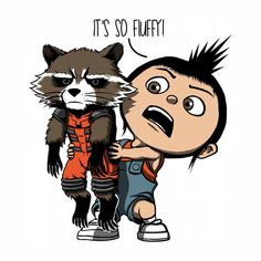 Guardians of the Galaxy + despicable me