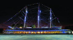 Cutty Sark -  The Cutty Sark is one of the attractions clustered as the Royal Museums Greenwich: the National Maritime Museum, the Royal Observatory and the Queen's House.