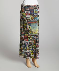 Another great find on #zulily! Red & Black Movie Maxi Skirt by Casa Lee #zulilyfinds