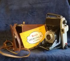 Vintage Camera, Kodak Sterling II, Vintage Kodak, Photography, Display, Black and White Photgraphy, Collectibles, Gift Idea, Folding Camera by TillyofBloomsbury on Etsy