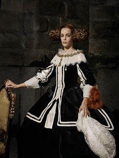 """Erwin Olaf,  """"Doña Mariana de Austria"""""""