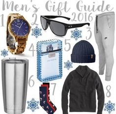 Men's gift guide! Follow @alexandrachammer on Instagram for more fashion, beauty and lifestyle posts! ♥