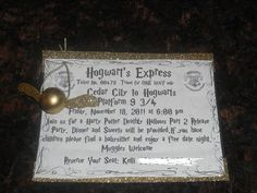 Harry Potter Party!!!! ...A Little Bit of Everything...: Parties