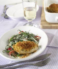 Fisch mit Kräckerkruste Rezept - [ESSEN UND TRINKEN]