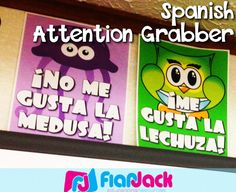 FREE Spanish Attention Grabber Posters