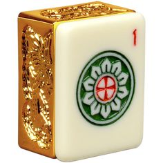 Amazon.com: American Mahjong Set with Five Layer Case - ''Golden Dragon'': Toys & Games
