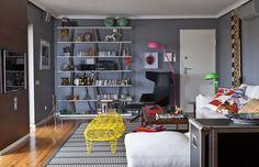 Apartamento português com jeito brasileiro e peças italianas (Foto: Chico Aragão/divulgação )