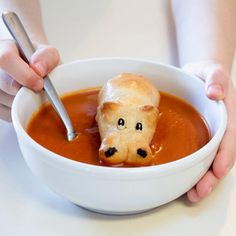 """Fine dining is fine, but don't overlook opportunities for """"fun"""" dining as well. Hippo Rolls"""