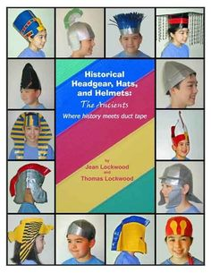 Cycle 1 / Duct tape Hats/HeadGear/Etc.  Might come in handy for costumes. by maura