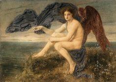 Simeon Solomon, English Pre-Raphaelite Painter, 1840-1905: Dawn