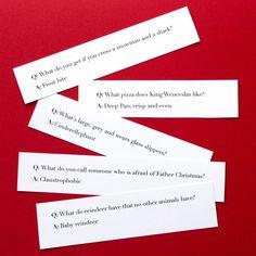 Weird Christmas cracker joke ideas funny questions More