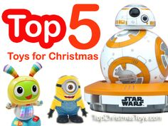 Top 5 Toys for Christmas 2015