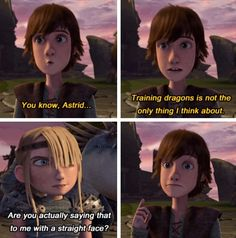 It was made official by John Sanford that Hiccup was indeed hinting that he thought about Astrid as well