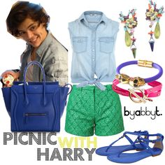"""""""Picnic with Harry"""" by abbytamase on Polyvore"""