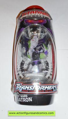 Transformers Titanium MEGATRON beast wars 2007 MOC mip die cast 3 inch series