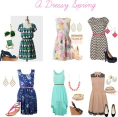 Just a beautiful soft and color style of dresses that can suit anyones taste...dressy but casual and comfortable...