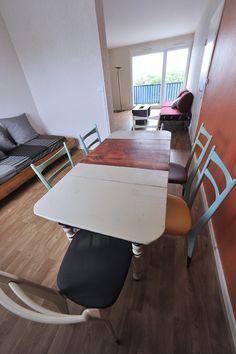 Création de mobilier pour équiper un appartement d'accueil géré par l'association Le Refuge par ATELIER D'éco SOLIDAIRE.