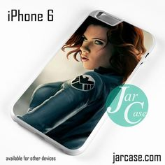 Black Widow as Agent Shield Phone case for iPhone 6 and other iPhone devices