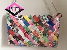 Eco Bolso multicolor por KraftsbyMaryot en Etsy
