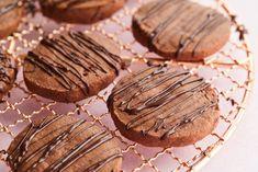 Chocolate Shortbread Cookies - Gemma's Bigger Bolder Baking Cookie Desserts, Sweet Desserts, Cookie Bars, Cookie Recipes, Chocolate Shortbread Cookies, Shortbread Recipes, Homemade Oreos, Homemade Chocolate, Bigger Bolder Baking