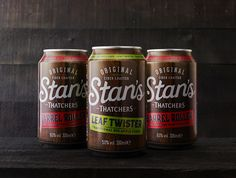 Thatchers Stan's on Packaging of the World - Creative Package Design Gallery