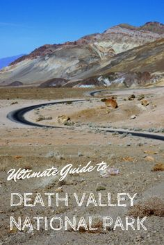 The ultimate guide to exploring Death Valley with (and without) kids. Where to stay, eat and what to do during your visit.