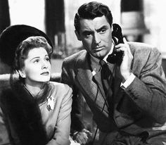Joan Fontaine and Cary Grant in Suspicion. Dial M For Murder, Hollywood Actor, Hollywood Actresses, Classic Hollywood, To Catch A Thief, North By Northwest, Christian Religions, America And Canada, Actresses
