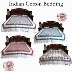 Home Decor: Hand Loom Cotton Bedspread