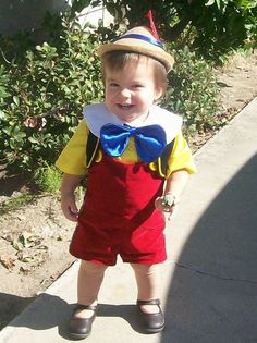 Pinocchio child Costume One of A KIND Lederhosen 12 months to 4 years Old October Fest tyrolean Alpine Hat