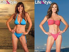 "Former ""The Bachelorette"" star Trista Sutter is happy to show off her new body!"