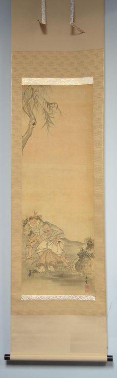 Галерея Японского искусства | Свитки