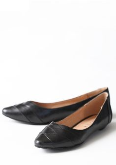 Lucky Flats In Black By Chelsea Crew