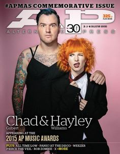 Announcing the second annual commemorative APMAs issue! ALL TIME LOW! PIERCE THE VEIL! PANIC! AT THE DISCO, HAYLEY & CHAD! ROB ZOMBIE! Exclamation points!