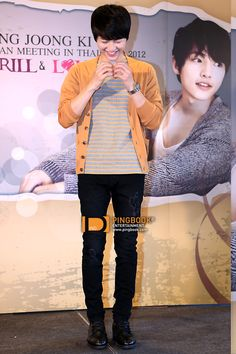 [บทสัมภาษณ์] ซงจุงกิ (Song Joong Ki) อ้อนแฟนคลับไทย ชวนร่วมงานแฟนมีทฯแรก Chang Drinking Water present SONG JOONG KI 1st ASIA TOUR FAN MEETING IN THAILAND 2012 'THRILL & LOVE' (2012-04-28) – PINGBOOK
