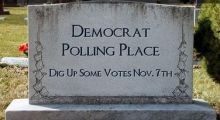 30,000 Dead Registered to Vote in North Carolina,  what's up with this?  Somebody needs to go to jail for this!