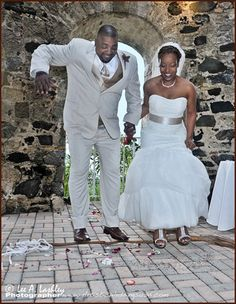 Jumping the broom is