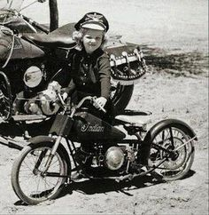 Indian Motorcycle Women Riding Bikes Ideas For 2019 Vintage Indian Motorcycles, Vintage Bikes, Vintage Motorcycles, Motorcycle Women, Motorcycle Style, Motorcycle Helmet, Enfield Motorcycle, Motorcycle Touring, Biker Style