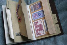 Traveler's Notebook Passport Size - custom notebook pocket inserts | Flickr - Photo Sharing!