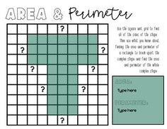 Math Help, Fun Math, Maths, Real Life Math, Area And Perimeter, 5th Grade Math, Google Classroom, Teacher Newsletter, Student