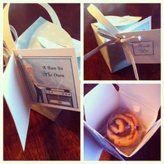 Baby Shower Party Favor-bun in the oven