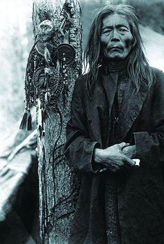 Shaman Fedor Poligus. Evenk, Eastern Siberia. 1907-1908