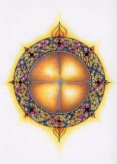Mandala Atelier: Inspiratie Workshop #17: Mini Mandala
