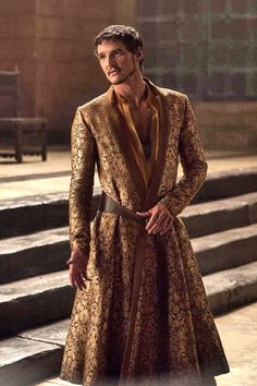 Prince Oberyn Martell - The Red Viper of Dorne. I love the costumes in Game of Thrones!